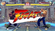Ultra Street Fighter IV battle: Dee Jay vs Sagat