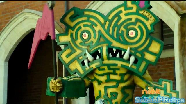 Power Rangers Dino Charge - When Logic Fails - Unmorph Fight Scene