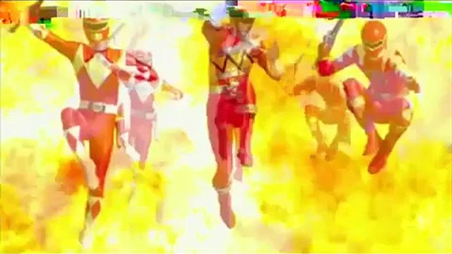 Peter Griffin Watches the Opening Of Power Rangers Dino Charge Team Up Episode