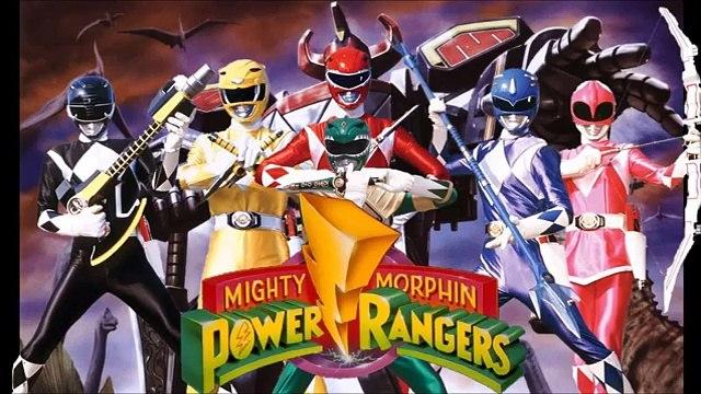 Power Rangers Mighty Morphin Canción