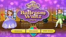 Sofia the First Full Episode of Ballroom Waltz Game - Complete Walkthrough - 3D Cartoon for Kids (N