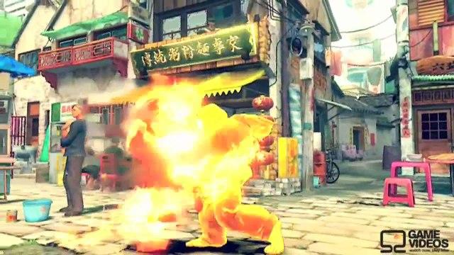 Rewinding Street Fighter cartoon