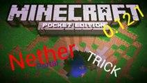 NETHER PORTAL Trick !!! | MCPE 0.12.1+