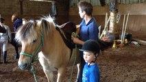 Baptêmes de poney au centre équestre