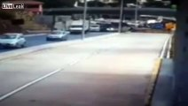 Overpass in Brazil World Cup city collapses onto vehicles