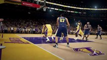 NBA 2K15 PS4 1080p HD Mejores jugadas Los Angeles Lakers-Utah Jazz