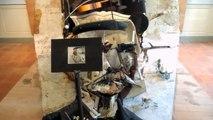 Art made from a pile of junk Exposition Alain PRAS - Palais Facteur Cheval