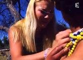 Marlice Van Der Merwe,bushwoman & leopard.