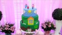 Decoração de festa infantil Peppa Pig - Provençal