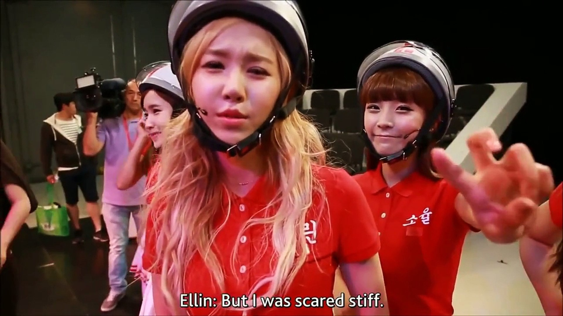 funny crayon pop speaking english part 1