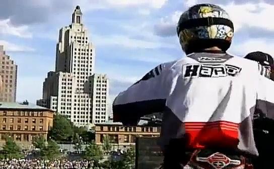 Motorcycles Motorcycles Crash Accident Fail motocross  Carey Hart  1st ever Flip2000 avi
