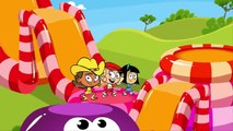 Kids Song BOUNCE funny children's music rap cartoon by Preschool Popstars