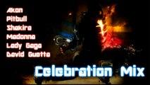 Musical Celebration Mix  Exclusiv !  David Guetta- Madonna-Lady Gaga-Pitbull-Shakira-Akon