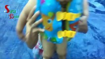 Funny Baby 2 Years Jumping  Pool (FUNNY BABY VIDEO)