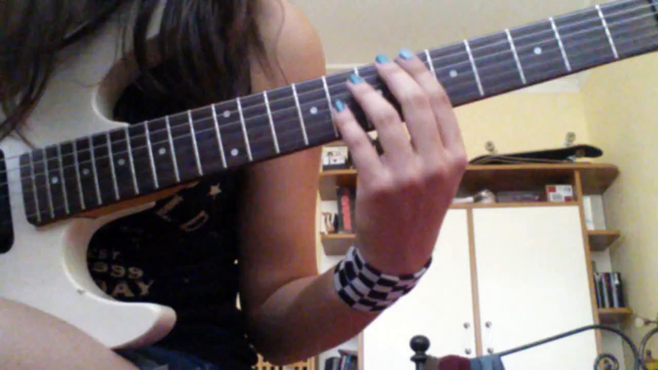 Guitar lesson scales
