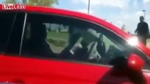Scammer: 'Homeless' Elderly Lady Gets Caught Driving A New Car,