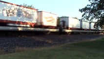 Trains On The Move Ringling Bros. And Barnum & Baily Circus Train The Blue Unit 2009 And More!
