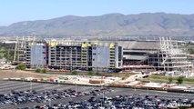 San Francisco 49ers Levi's Stadium Time-Lapse