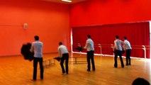 Chorégraphie Danse L1 STAPS Caen / Les Gentlemens