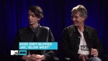 Michael Fassbender's Shaving Technique Kodi Smit-McPhee & Ben Mendelsohn Discuss  MTV News