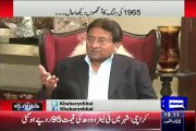 Pervez Musharruf Reveals About His Action In The War Against Indian In 1965