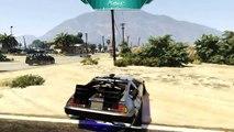 GTA 5 BACK TO THE FUTURE DELOREAN MOD, DRIVE THE DELOREAN IN GTA 5