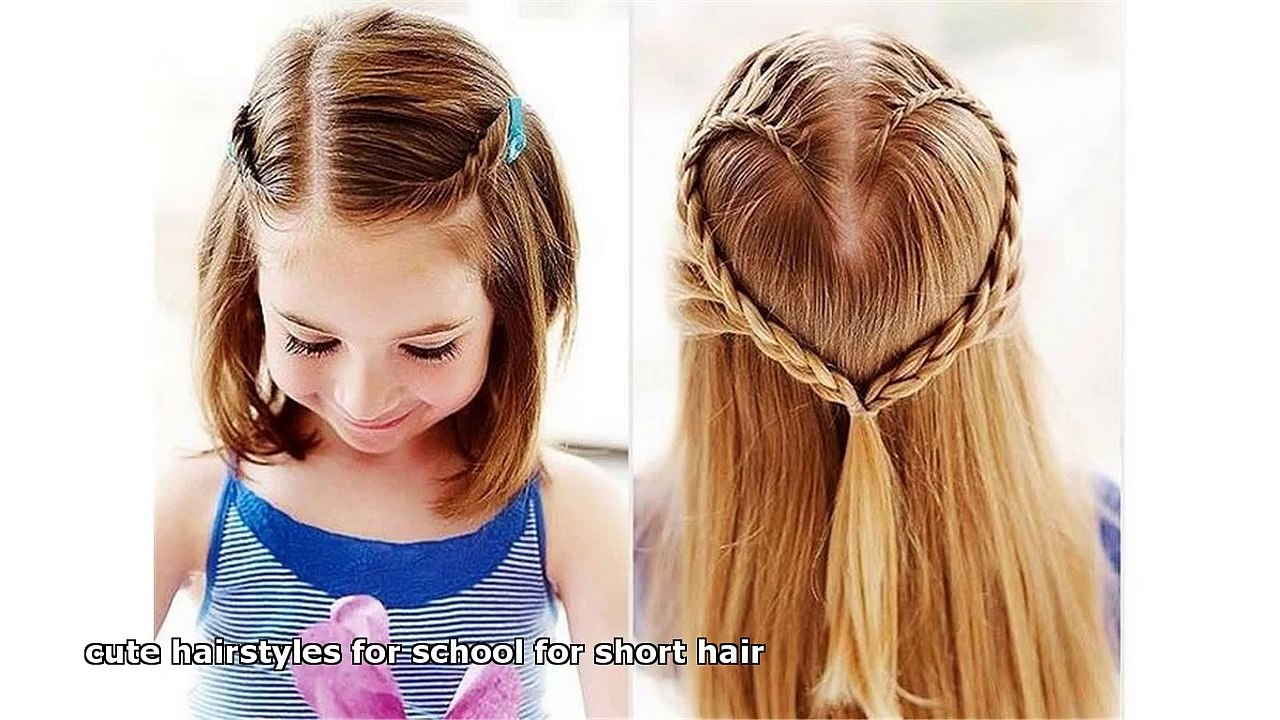 Cute Hairstyles For School For Short Hair