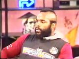 Sleeper hold by Hulk Hogan on Wanky Gameshow host