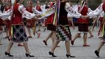 Największy hopak na świecie. Rekord Guinnessa   zycie.pl