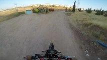 apollo dirt bike orion 250cc test drive 2
