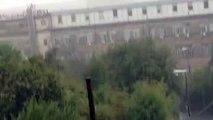Huge Waterspout Makes Landfall in Genoa