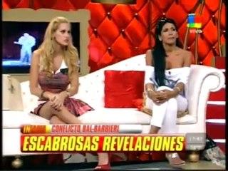 Adriana Barrientos vs Zeta amiga de Moria Casán en Infama