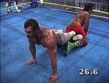 Sting, Nikita Koloff, Steamboat, Windham, & Dustin Rhodes vs. Rude, Austin, Anderson, Eaton, & Zbyszko (WarGames)