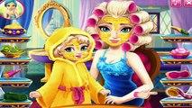 Princess Elsa Mommy Makeover - Games For Little Kids - Baby Videos Games For Kids