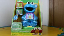 Cookie Monster s Find & Learn Number Blocks meets Thomas the Train!