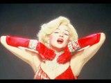 JIM BAILEY as  Marilyn Monroe : Diamonds are a girls best friend