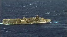 USS Ogden & USS Tuscaloosa Receives Fire from Submarine and  Frigate during RIMPAC