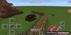 Minecraft PE Tutorial Como Fazer Fogueira Realista