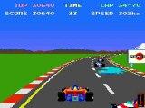 Pole Position (Namco,1982) : démo du jeu
