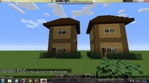 Minecraft Small Wooden House Design Video Dailymotion