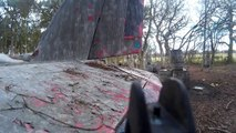 Deltaforce Paintball Holmes Chapel, Brown vs Green 2015-04-04 - Raiders of the Lost Ark 1