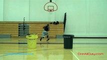 Split-Dribble Move Driving Dunks 1 & 2   Dwyane Wade Moves     Dre Baldwin