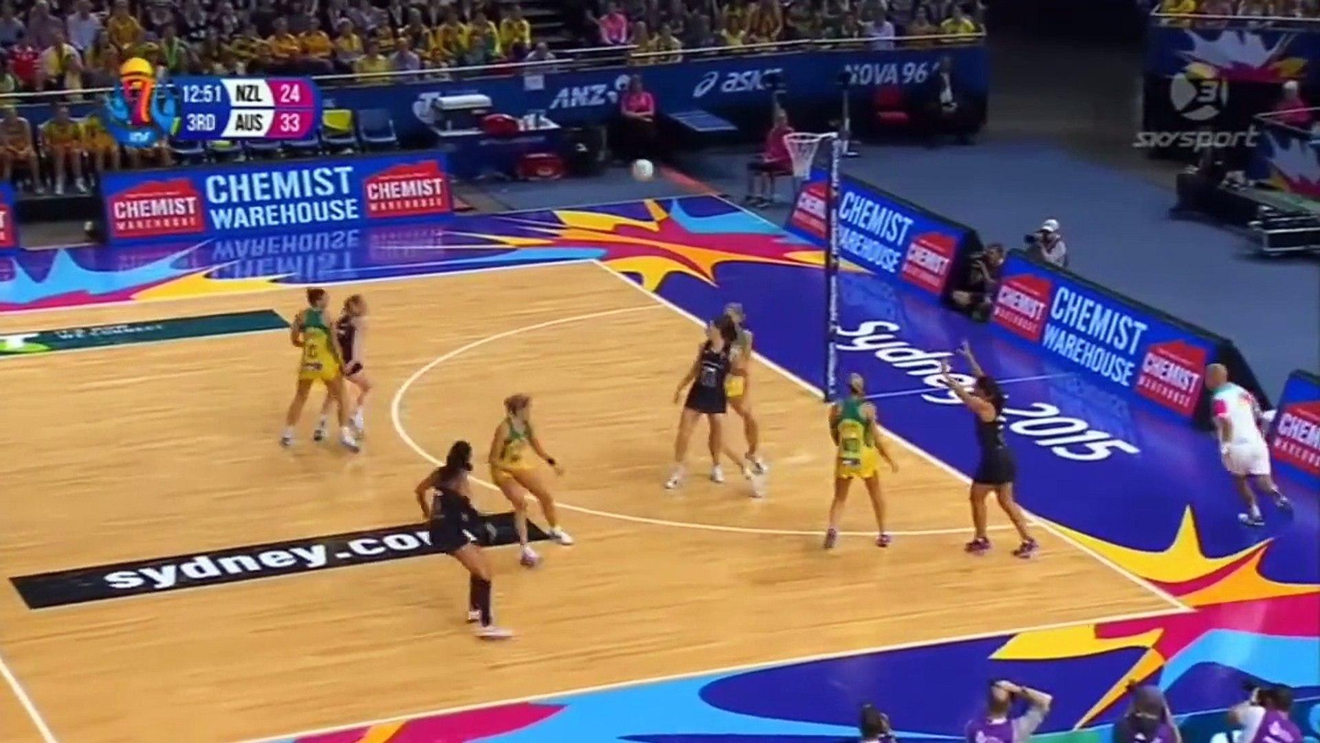 Australia vs. New Zealand - Highlights (Netball World Cup Final 2015)
