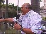 Reporter da Globo dá tapa na cara de entrevistado ao vivo