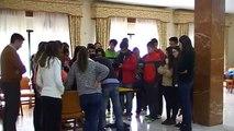 Profesores de la Universidad de Sevilla enseñan matemáticas a alumnos del Instituto II