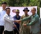 Companies distribute free cassava seedlings to Lao farmers