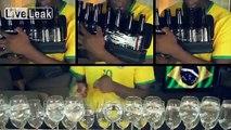 World Cup 2014 Song - Brazilian Samba w/ Kitchen Instruments - Aquarela do Brazil/Mas Que Nada