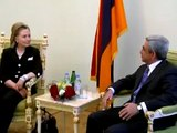 Hillary Rodham Clinton's meeting with Serzh Sargsyan and press conference 04.07.2010