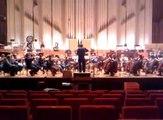 "Slovak Philharmonic Orchestra recording for ""Winston Churchill: Walking With Destiny"""