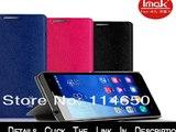 10 pcs/lot asli IMAK sandal penutup untuk Huawei 3C kehormatan, 3C tikus leather case